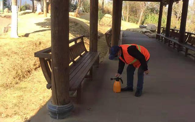公园保洁服务