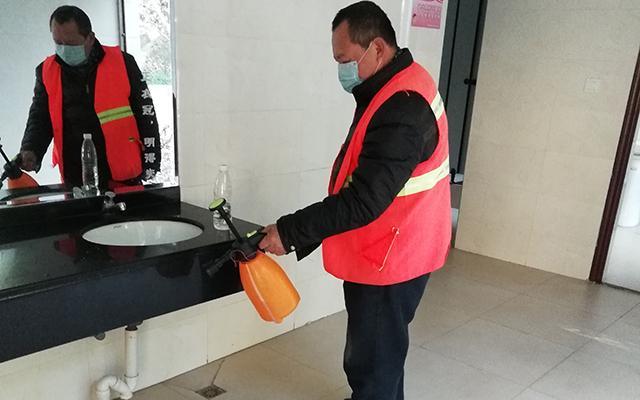 公共环境保洁服务