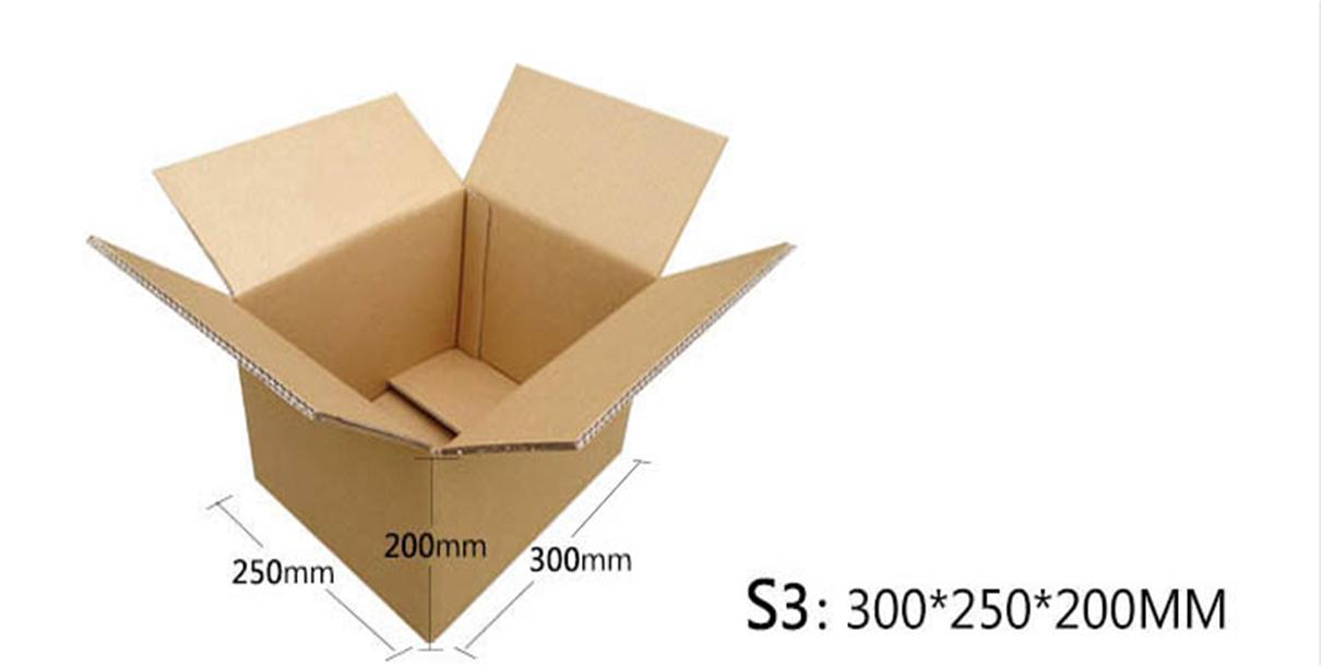 纸箱规格:S3:300*250*200MM